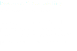 "Process & Capability Understand – how to do? Strategy Execution: Defines the path from A to B. It results from choosing one of different ""A to B"" path options or execution plans."